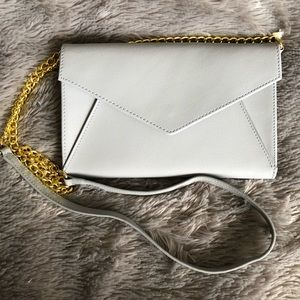 Handbags - Saffiano leather wallet with golden hardware